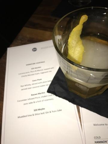 Coco Plum, oh so refreshing! Alongside their cocktail menu, so yum!